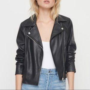 Dynamite faux leather jacket